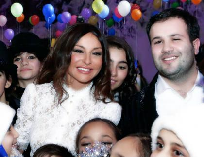 From the concert organized by Mehriban Aliyeva and the Heydar Aliyev Foundation